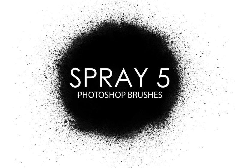 Free Spray Photoshop Brushes 5 Photoshop brush