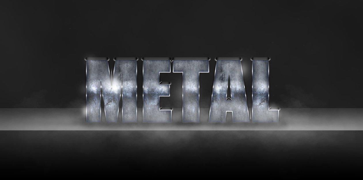 Metal Style  Photoshop brush