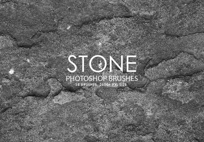 Free Stone Photoshop Brushes Photoshop brush