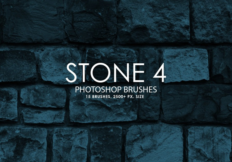 Free Stone Photoshop Brushes 4 Photoshop brush