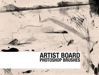 Artist Board Photoshop brush