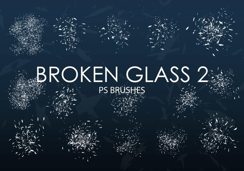 Free Broken Glass Photoshop Brushes 2 Photoshop brush