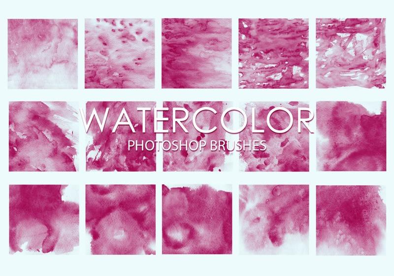 Free Watercolor Photoshop Brushes 4 Photoshop brush