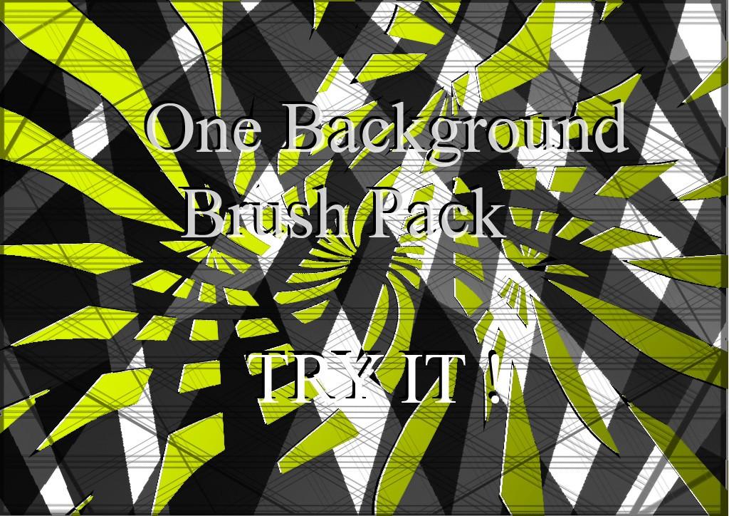 One Background Brushes Photoshop brush