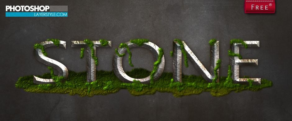 Stone Style Photoshop brush