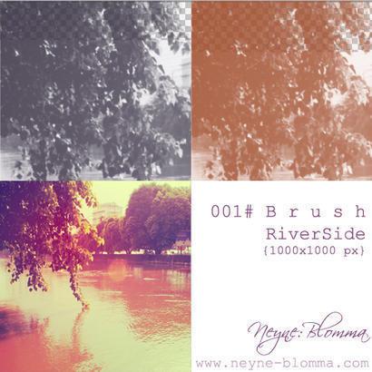 River Side Brushes  Photoshop brush