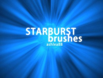 Starburst Brushes Photoshop brush