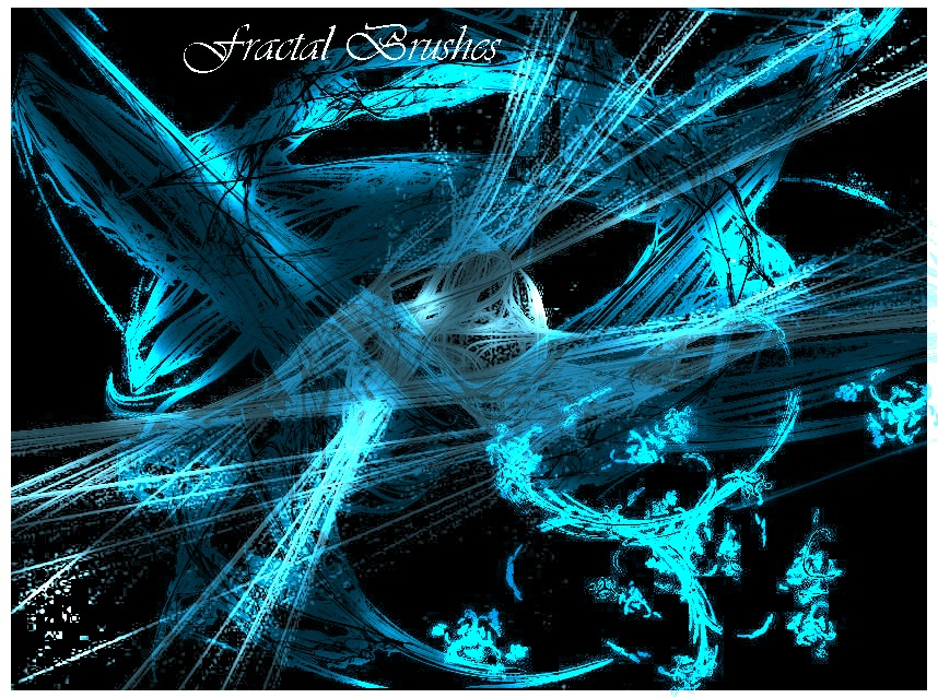 Fractal Brushes Set 1 Photoshop brush