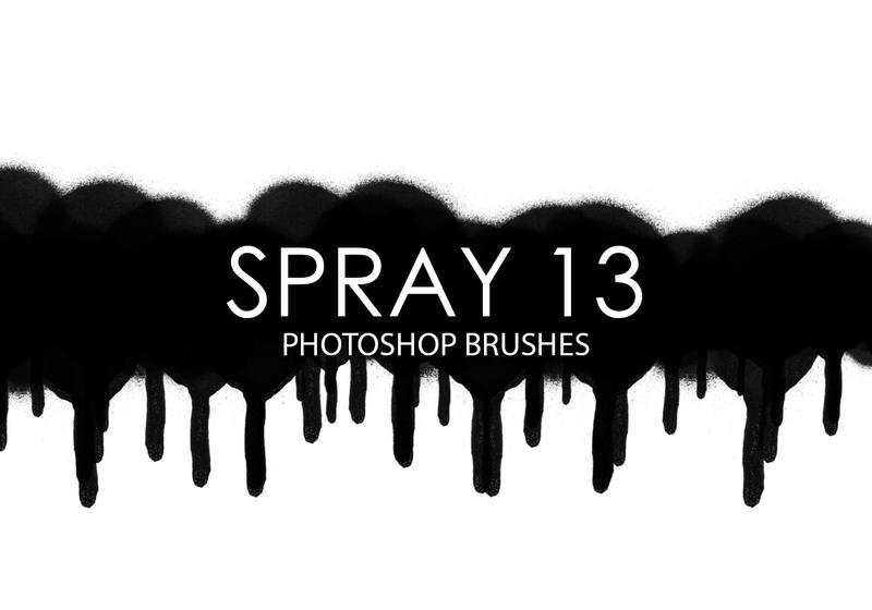 Free Spray Photoshop Brushes 13 Photoshop brush