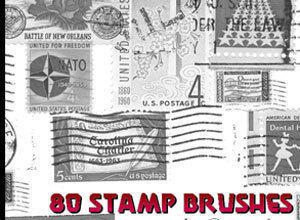 Photoshop Stamp Brushes Photoshop brush