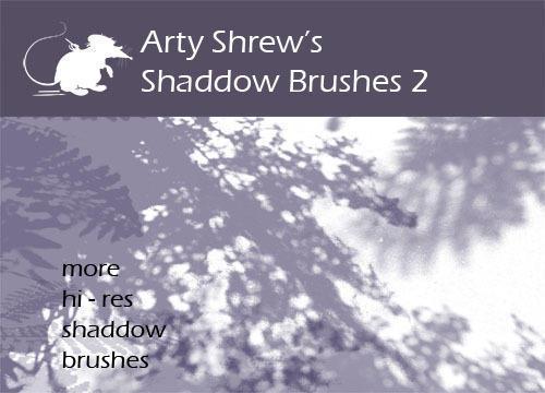 Arty Shrew's Shadows Brushes 2 Photoshop brush