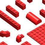 Lego Brick Brush Pack Photoshop brush