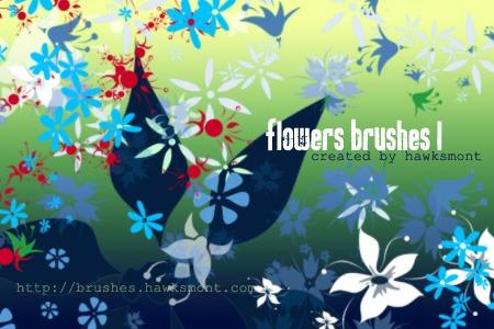 Flowers Brushes Photoshop brush