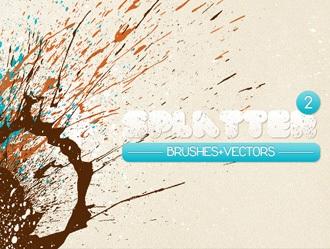 WG Splatters 2 Photoshop brush