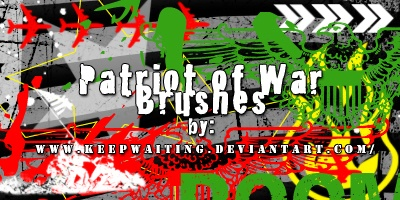 Patriot of War Brushes Photoshop brush