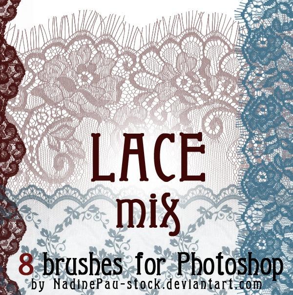 Lace Mix Photoshop brush