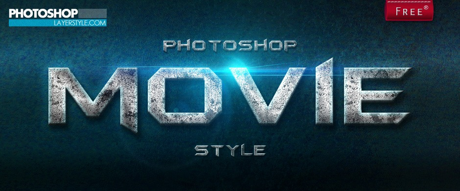 Movie Layer Style Photoshop brush