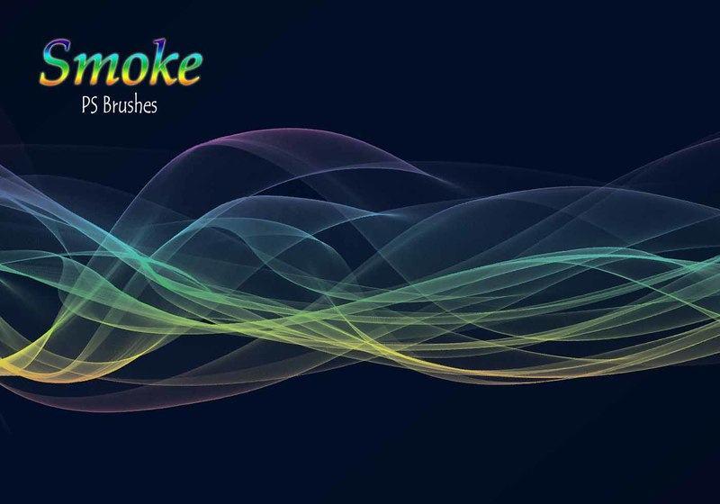 20 Smoke PS Brushes abr. Vol.14 Photoshop brush
