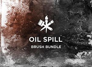 Oil Spill Photoshop brush