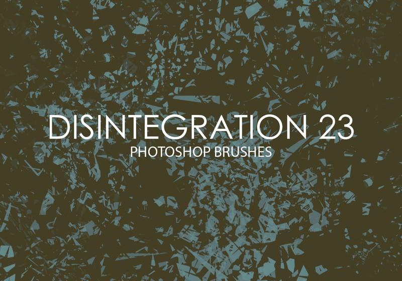 Free Disintegration Photoshop Brushes 23 Photoshop brush