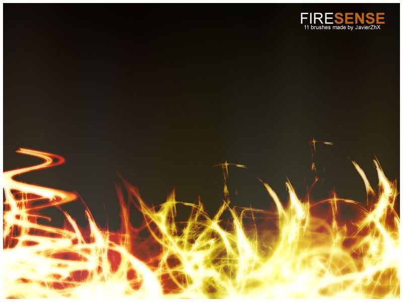 Fire Sense Photoshop brush