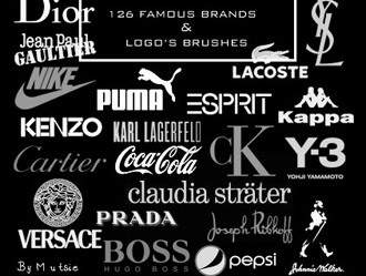Brands Logo Photoshop brush
