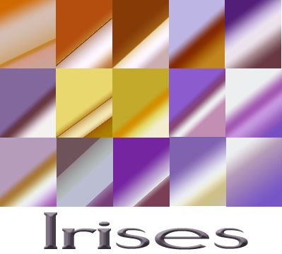 Irises Gradients Photoshop brush