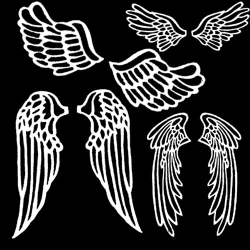 Angel Wings 3 Photoshop brush