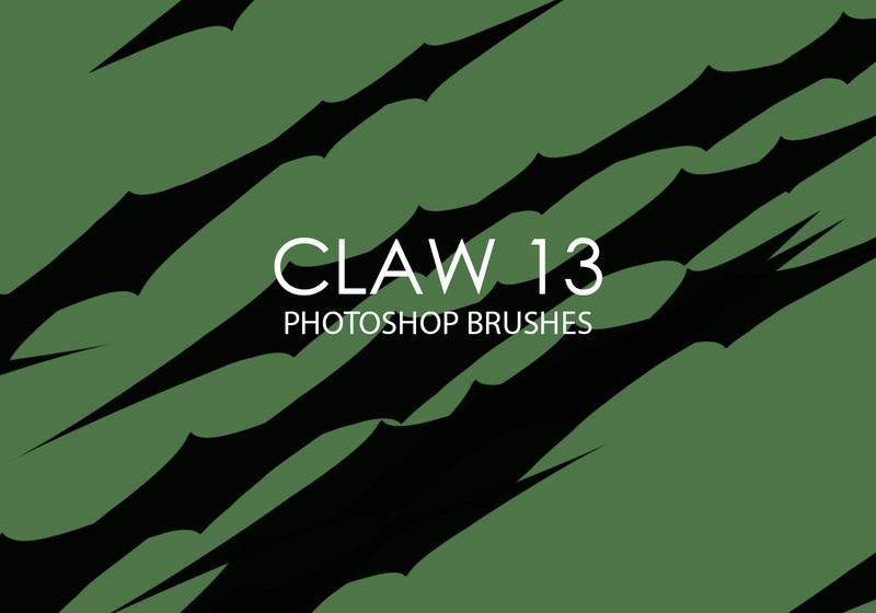 Free Claw Photoshop Brushes 13 Photoshop brush