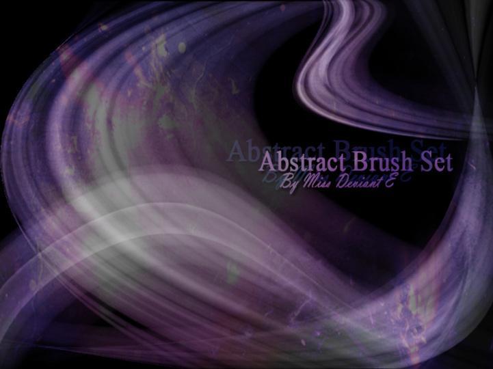 Abstract Brushes Photoshop brush