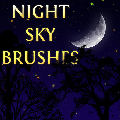 Night Sky Brushes Photoshop brush