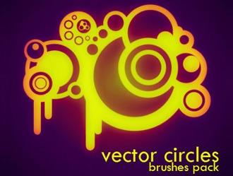 Vector Circles Photoshop brush