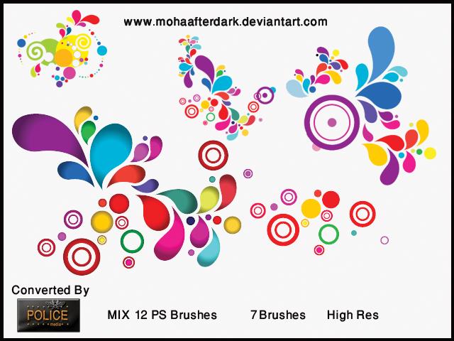 Mix 12 Photoshop brush