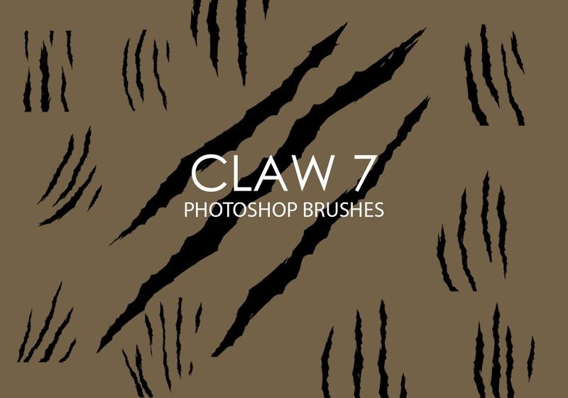 Free Claw Photoshop Brushes 7 Photoshop brush