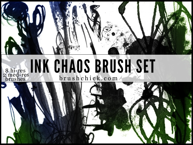 Ink & Chaos Photoshop brush
