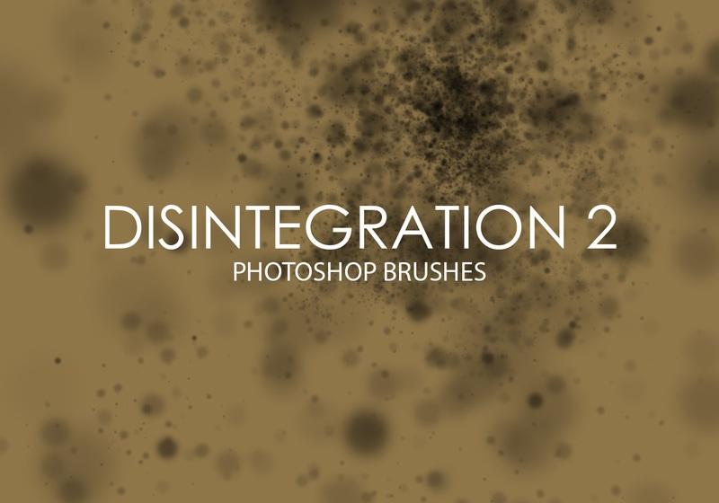 Free Disintegration Photoshop Brushes 2 Photoshop brush