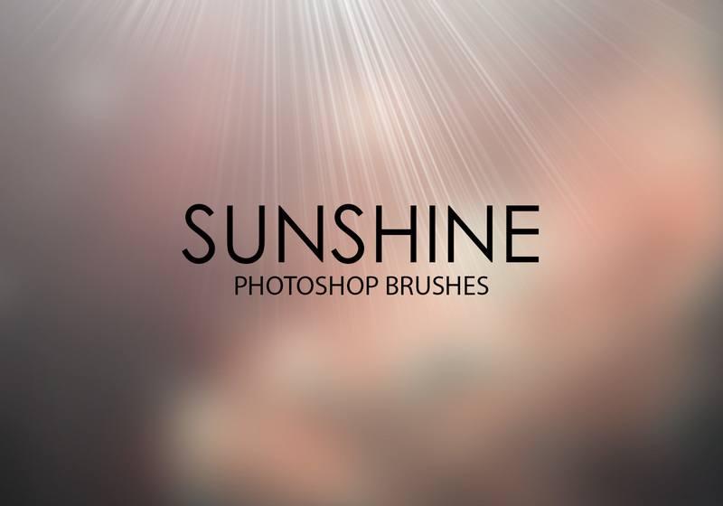 Free Sunshine Photoshop Brushes Photoshop brush