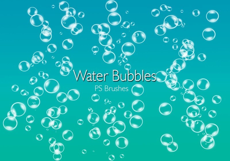 20 Water Bubbles PS Brushes abr.Vol.2 Photoshop brush