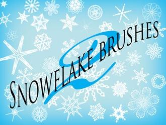 Snowflake Brushes Photoshop brush