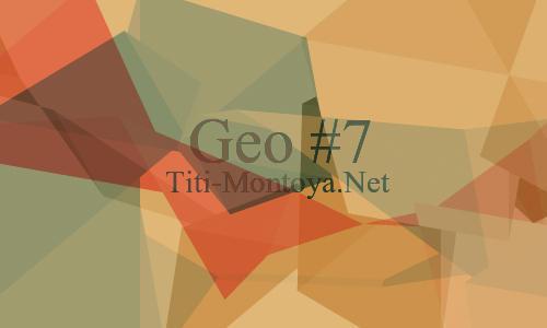 Geo 7 Photoshop brush