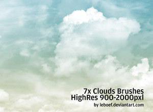 Cloud Photoshop Brushes Photoshop brush
