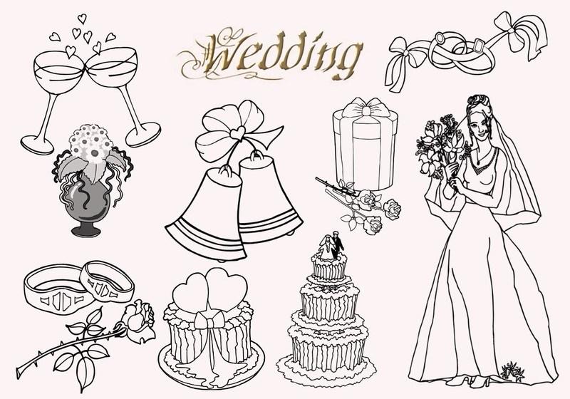 20  Wedding PS Brushes abr  Photoshop brush