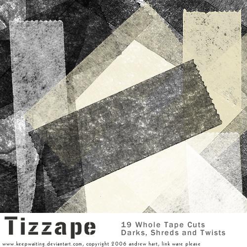 Tizzape Tape Brushes Photoshop brush