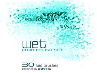 Fluid Brushes Photoshop brush