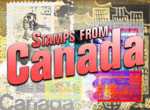 Stamps from Canada Photoshop Brushes Photoshop brush