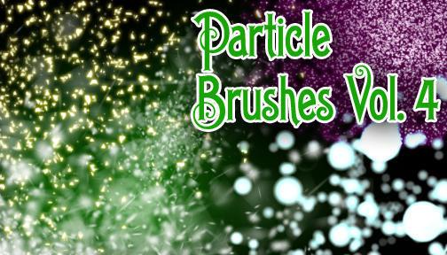 Hi-Res Particle Brushes Vol. 4 Photoshop brush
