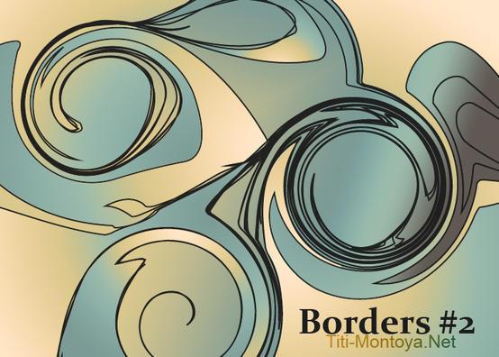 Borders 2 Photoshop brush
