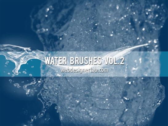Water Brushes Vol. 2 Photoshop brush