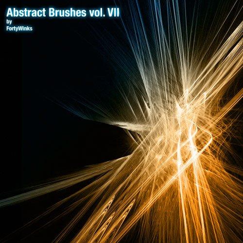 Abstract brush pack vol. 7 Photoshop brush