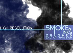 Smoke & Inks Brushes Photoshop brush